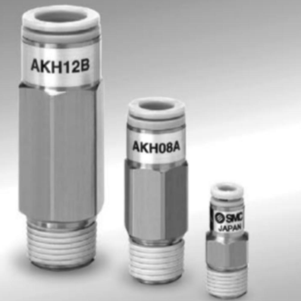AKH04A-01S  Обратный клапан, R1/8