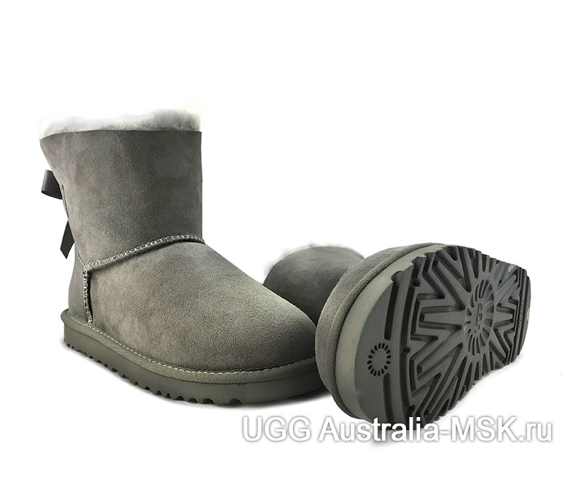 UGG Bailey Bow II Mini Grey