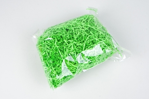 Бумажный наполнитель 100г (Цвет: салатовый)