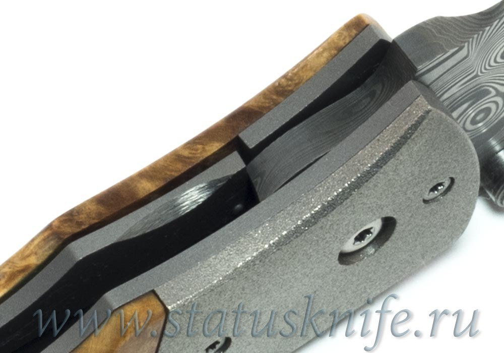 Нож Lightfoot M1 Damascus Custom one-off - фотография