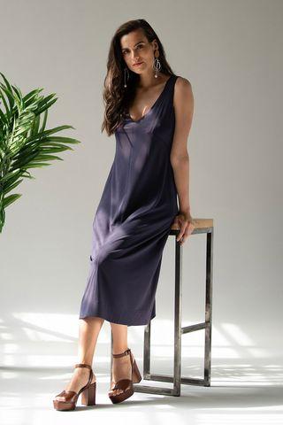 Платье 60429-2 фиолетовый Laete
