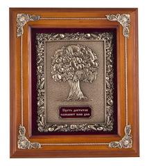 """Панно """"Древо изобилия"""" (дерево, цвет орех)"""