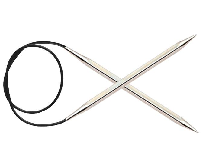 Спицы KnitPro Nova Cubics круговые 5,5 мм/40 см 12160