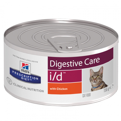 Hill's Диета консервы для кошек i/d лечение заболеваний ЖКТ 156г