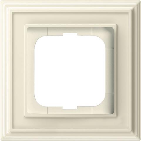 Рамка на 1 пост. Цвет Слоновая кость. ABB(АББ). Dynasty(Династия). 1754-0-4600