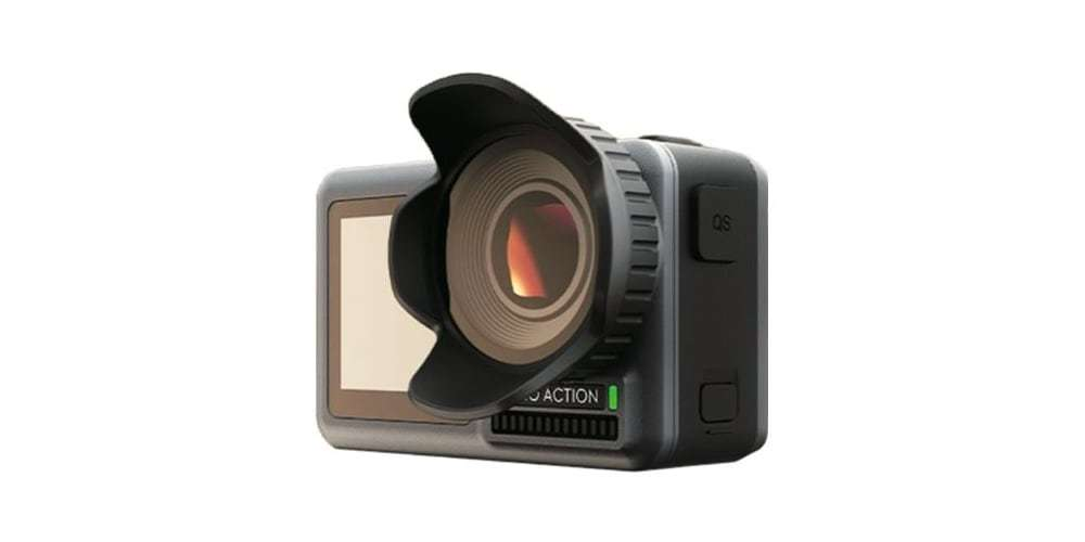 Бленда PGYTECH OSMO ACTION Lens Hood P-11B-016 на камере