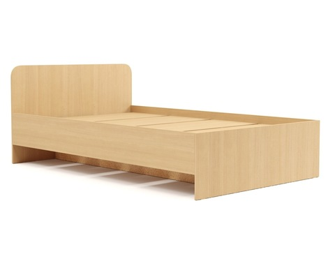 Кровать КР-16 дуб белёный