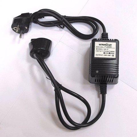 Блок Питания UV-3 (10-16Вт / 100-240В) для Wonder Light НR-60, НЕ-180, GWT-15