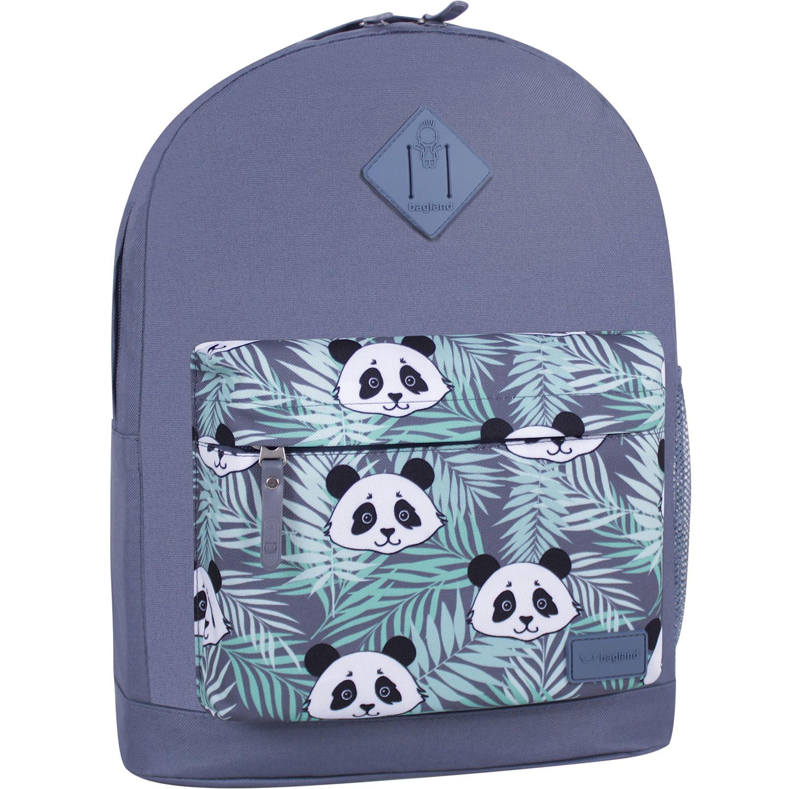Городские рюкзаки Рюкзак Bagland Молодежный W/R 17 л. Серый 764 (00533662) IMG_6481_суб.764_-1600.jpg