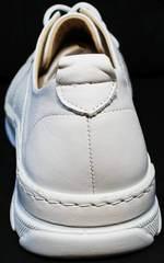 Белые туфли кроссовки для повседневной носки женские Derem 18-104-04 All White