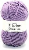 Пряжа Drops Merino Extra Fine 22 дымчато-фиолетовый