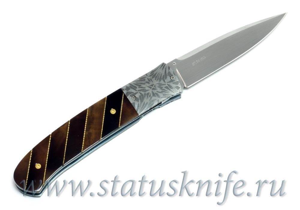 Нож William D. Pease Damascus Knife - фотография
