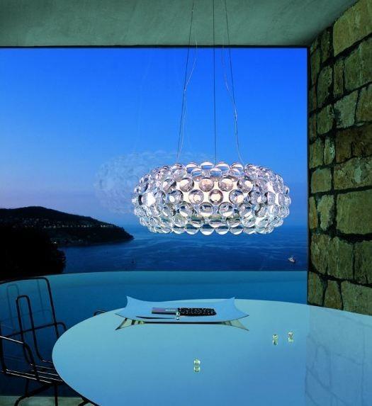 Подвесной светильник копия CABOCHE grande by Foscarini (прозрачный)