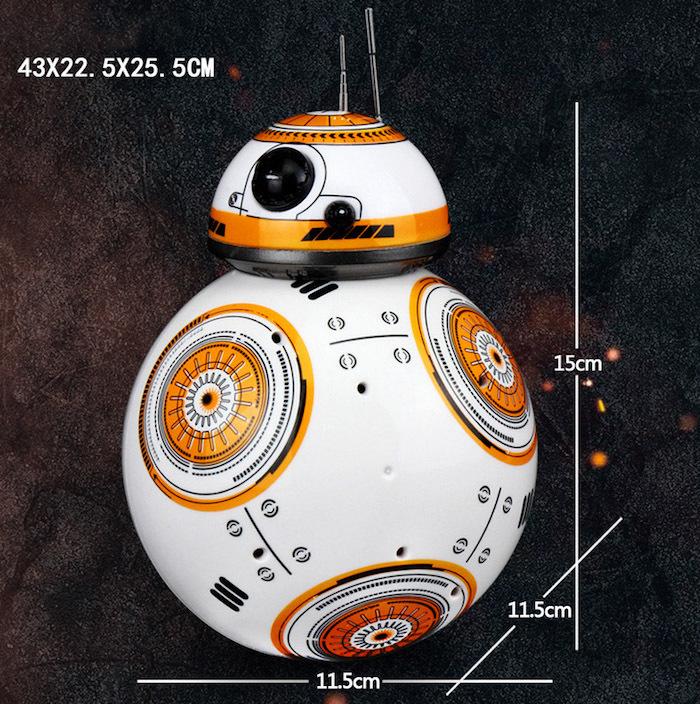 Небольшой, но интересный робот-дроид никого не оставит равнодушным
