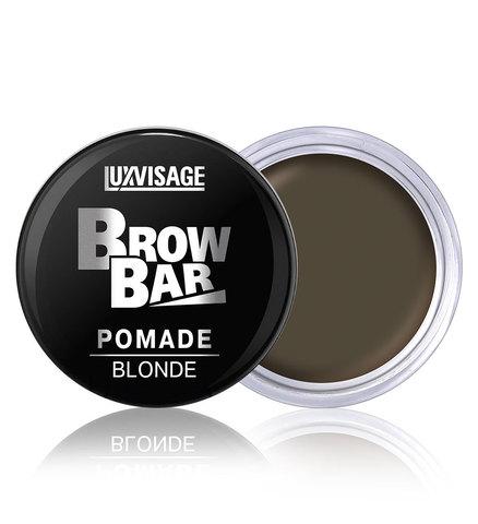 LuxVisage Brow Bar Стойкая матовая помада для бровей тон 1 Blonde 6 г