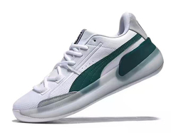 PUMA Clyde Hardwood 'White/Green'