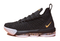 Nike LeBron 16 'Black/White/Gold'