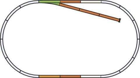 A-Gleis Рельсовый набор: Расширение - B