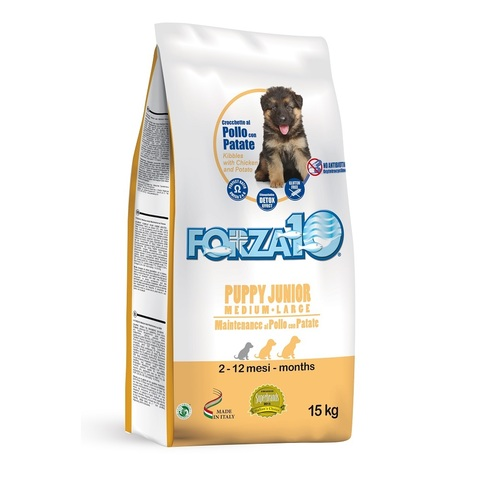 Forza10 PUPPY JUNIOR MAINTENANCE Medium/Large из курицы с картофелем