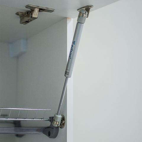 Верхний шкаф с газлифтами, 360Х400 мм / PushToOpen