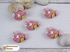 Декор Рыбка розовая