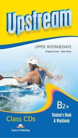 Upstream Upper Intermediate B2+ (2nd Edition) - Class Audio CDs (Student's Book & Workbook - set of 8) — Комплект из 8 дисков с аудиоматериалами