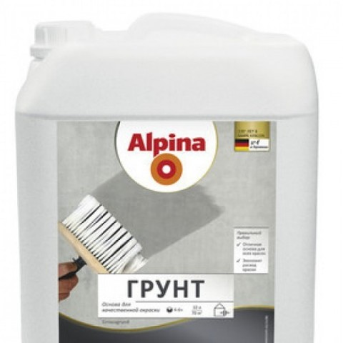 Alpina/Альпина Грунт универсальная акриловая грунтовка