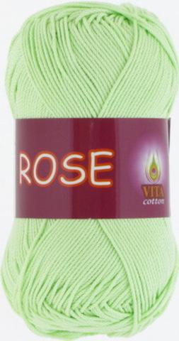 Пряжа Rose (Vita cotton) 3910 Светло-салатовый
