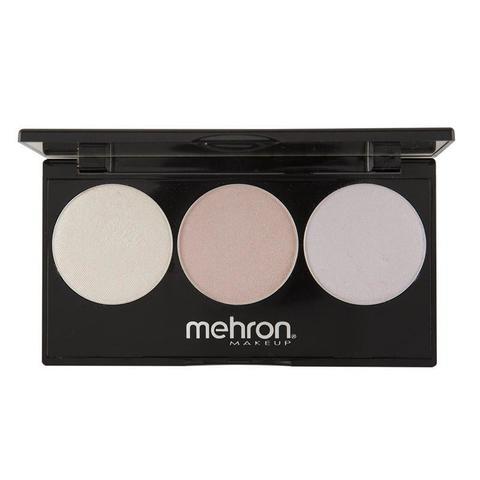 Mehron Палитра хайлайтеров Highlight-Pro 3 Color Palette-Cool