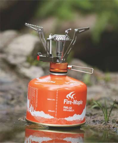 Картинка горелка туристическая Fire-Maple FMS-102 пьезо
