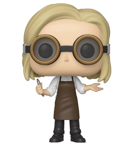 Фигурка Funko POP! Vinyl: Doctor Who: 13th Doctor w/Goggles 43349
