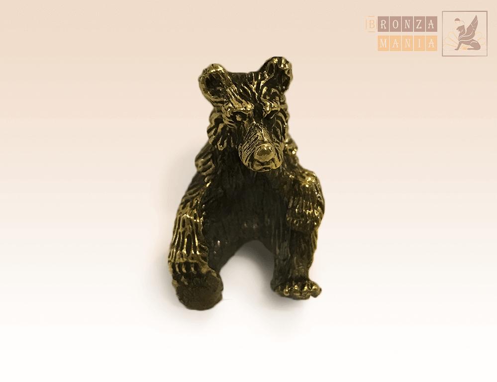 фигурка Медвежонок сидит