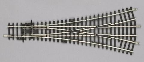PIKO 55225 Трёхпутная стрелка W3, 1:87