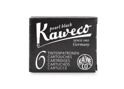 Набор картриджей жемчужно-черный 6 штук в картонной упаковке