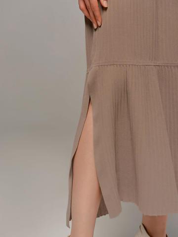 Женское серое платье LE TRICOT - фото 3