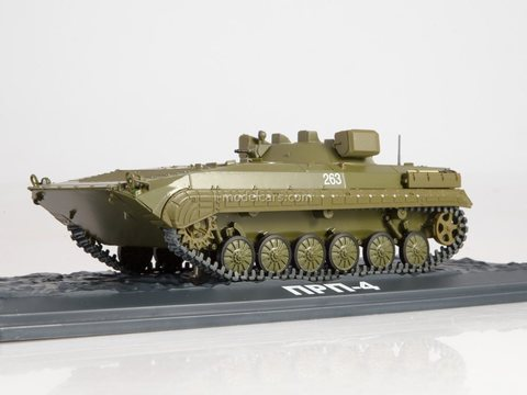 Armored personnel carrier PRP-4 Our Tanks #32 MODIMIO Collections