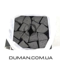 Натуральный кокосовый уголь для кальяна Yahya Elegance (Яхуа Элеганс)   1кг 72шт Под калауд