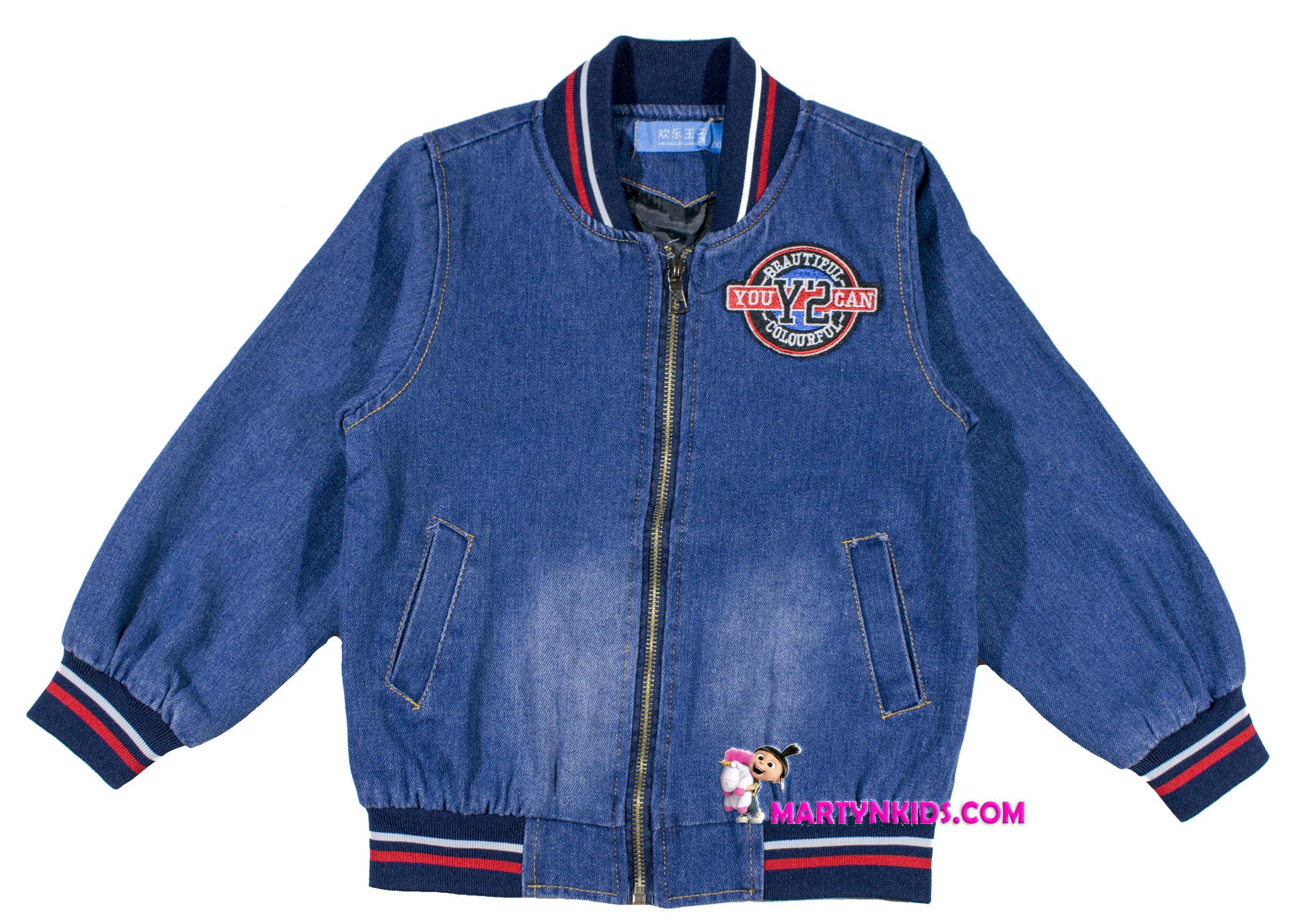 527 куртка джинсовая mix