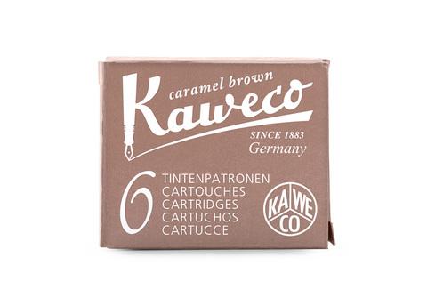 Набор картриджей карамельно-коричневый 6 штук в картонной упаковке