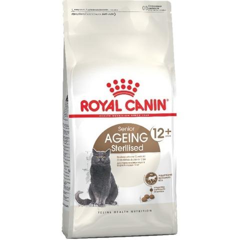 Royal Canin Ageing Sterilised 12+ ( 2 кг ) для стерилизованных кошек старше 12 лет