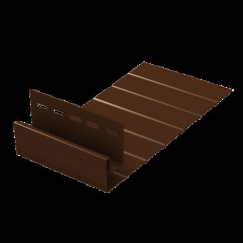 Ю пласт J - фаска коричневый 3 м