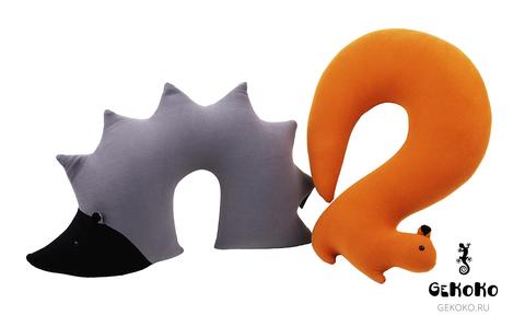Подушка-подголовник «Ежик» 3