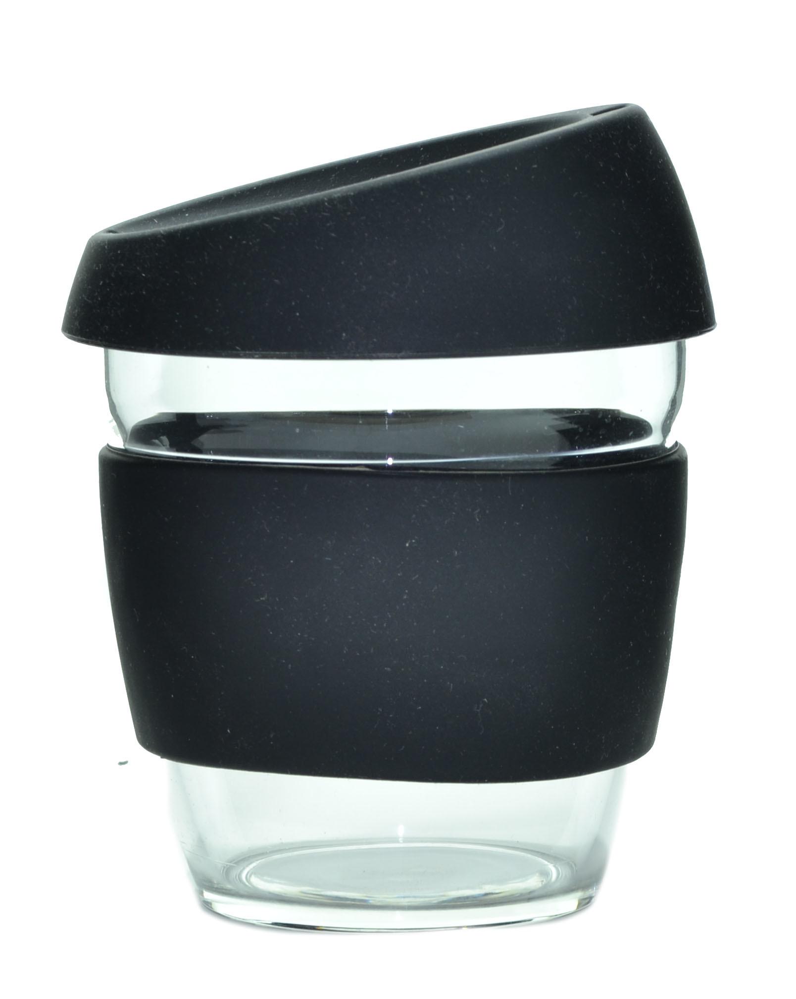 Кружка Coffee Cup из боросиликатного стекла 226 мл. черный
