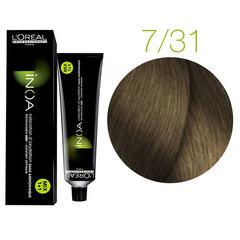 L'Oreal Professionnel INOA 7.31 (Блондин золотистый пепельный) - Краска для волос