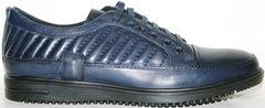 Модные мужские туфли Bellini 12405 Blue