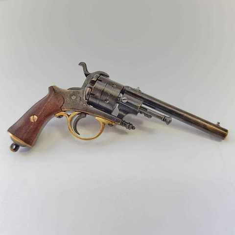 Miniature Lefosheux revolver pinfire
