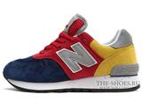 Кроссовки Женские New Balance 670 Blue Red Yellow