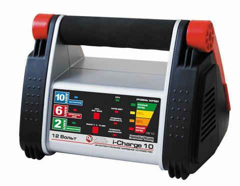 Зарядное устройство QUATTRO ELEMENTI i-Charge 10 (12В, 10/6/2 А) полный автомат (771-152), шт