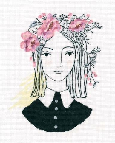 В дымке розовых цветов