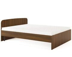 Кровать КР-04 орех тёмный